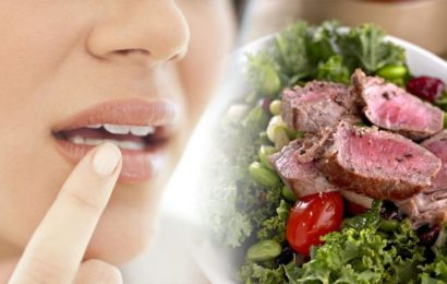 Iron deficiency symptoms: Seven signs in your mouth that could signal a lack of iron