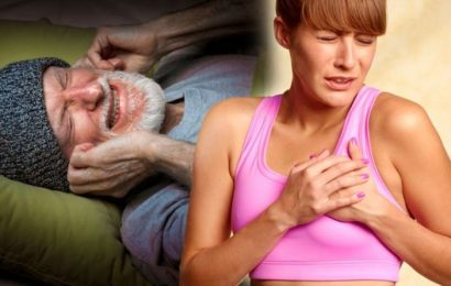 Heart attack symptoms: The warning sound when you sleep that could signal your risk
