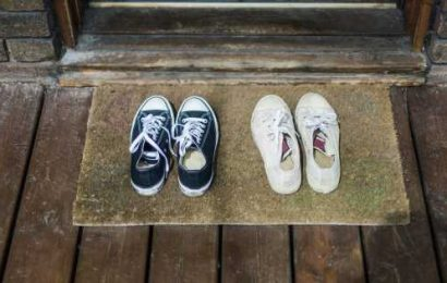 Coronavirus can survive on shoes for five days – doc says to leave them outside