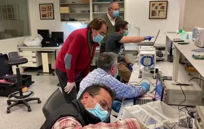 Researchers develop mechanical ventilator ready for industrial manufacturing