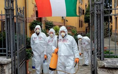 Sad Brand! Italy reports: Now more than 10,000 Deaths from Coronavirus