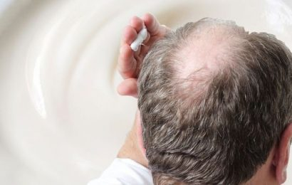 Hair loss treatment: Work this cream into your scalp to stimulate hair growth