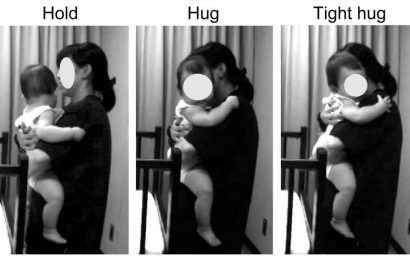 Young children find a parent's hug more calming than a stranger's