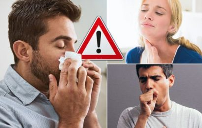 Coronavirus warning: The seven official symptoms of COVID-19 – including one common sign