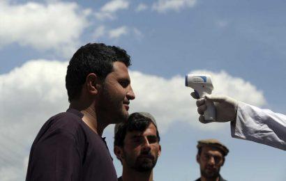 In random test of 500 in Afghan capital, one-third has virus