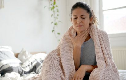 Here's how to get rid of a sore throat fast