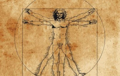 Leonardo's 'Vitruvian Man' ideal isn't far off modern measures