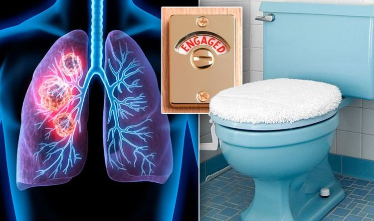 Lung cancer warning – the 'surprising' change to your toilet routine that could be a sign
