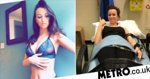 Model sells naked photos to raise money for Lyme disease treatment