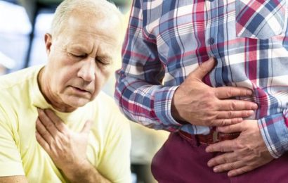 Heart attack: Dyspepsia can be a warning sign of the condition – what is it?