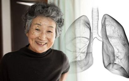 Which toxic fumes in everyday life could cause lung cancer symptoms?