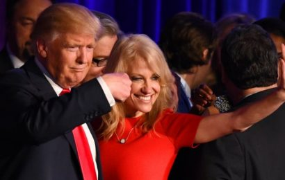 Body language expert reveals the truth about Kellyanne Conway and Donald Trump's relationship