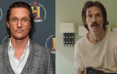 Matthew McConaughey said he lost 50 lbs for 'Dallas Buyers Club' on a diet of fish, tapioca pudding, and 'as much wine as I wanted to drink'