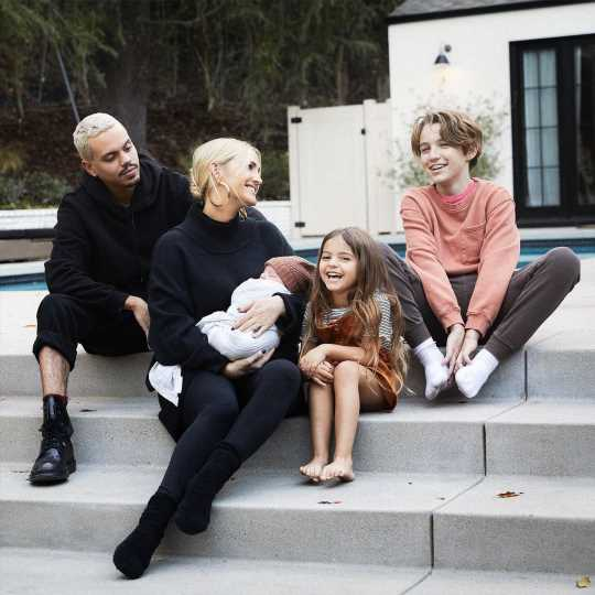 Ashlee Simpson and Evan Ross Share First Family Photo with All Their Kids on Bronx's Birthday