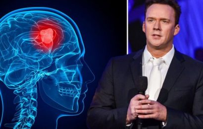 Russell Watson health: I'm A Celebrity star was reminded of his brain tumour during trial