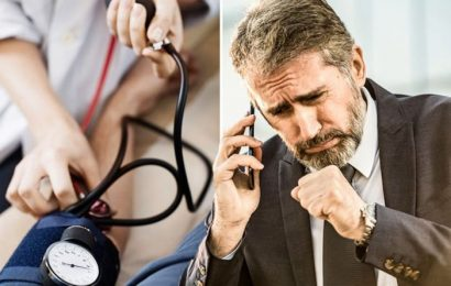 High blood pressure symptoms: Your cough may signal your reading is too high