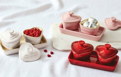 Le Creuset's Irresistible Valentine's Day Collection Is Going Fast, So Get It Now Before It's Gone
