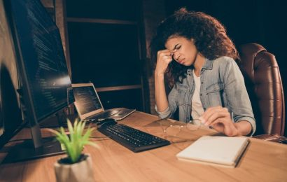 Work addiction can be harmful to mental health