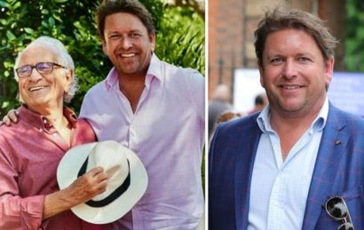 James Martin pays respect to mentor who passed away from idiopathic pulmonary fibrosis