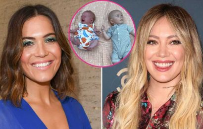 'Love Story for the Ages!' Mandy Moore's Son Meets Hilary Duff's Daughter