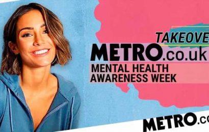 Frankie Bridge: 'If we stop talking about mental health, then stigma will win'