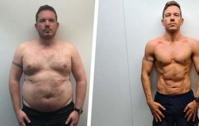 A Few Small Changes Helped This Guy Lose 75 Pounds and Get Shredded