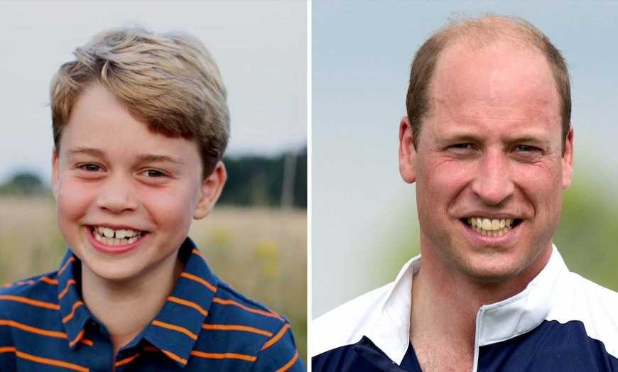 8 Is Great! Prince George Looks Just Like Prince William in Birthday Pic