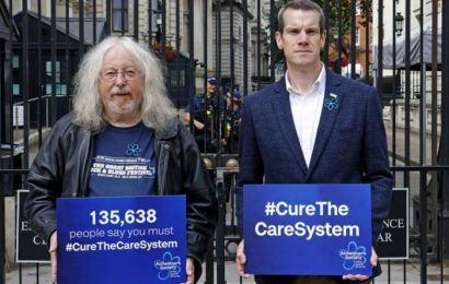 Alzheimers Society demands reforms to blatantly unfair system