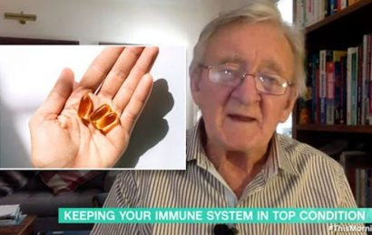 Vitamin D so important in fighting Covid says Dr Chris – how long to spend in the sun