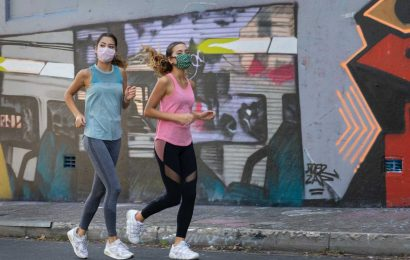 Kinesiology study finds that face masks and exercise do mix